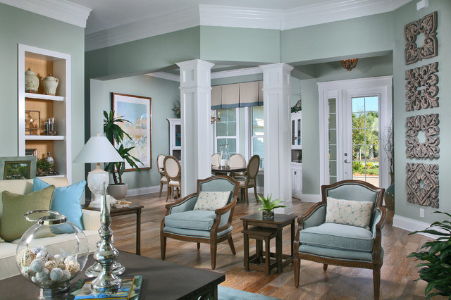 Coastal Interior Design ~ beautiful home interiors