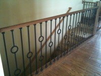 Iron Balusters - Contemporary - Staircase - chicago - by ...
