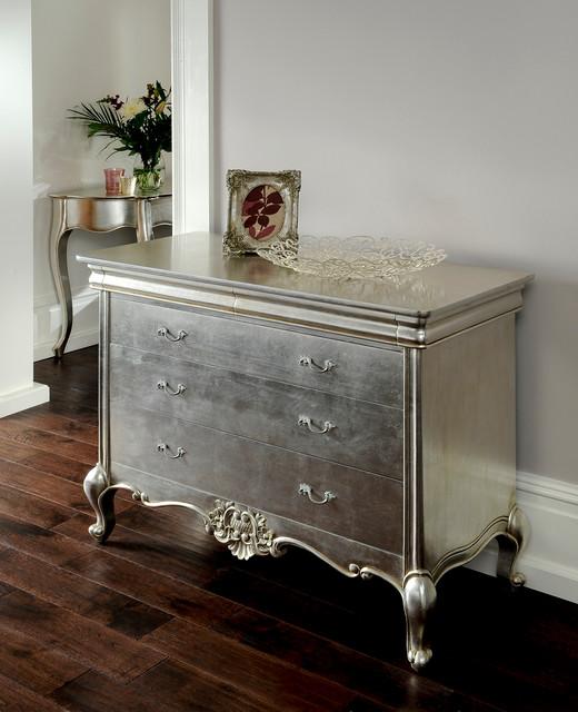 cristal silver leaf french furniture