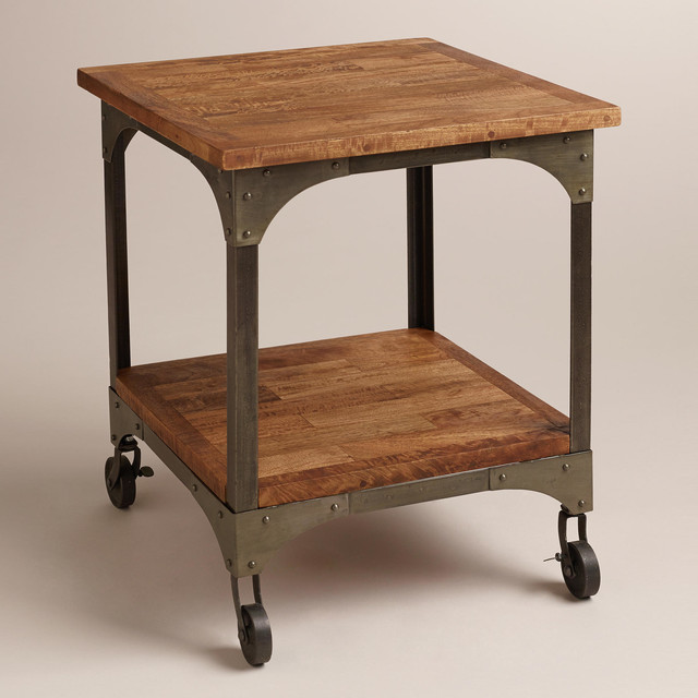 Industrieel Sidetable Aiden End Table - Industrial - Side Tables And End Tables