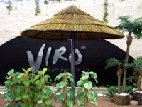 Synthetic Thatch - Tropical - Outdoor Umbrellas - miami ...