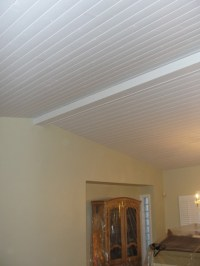 Vaulted ceiling 1x6 tongue and groove - Traditional ...