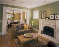 Custom Craftsman - Craftsman - Living Room - other metro ...