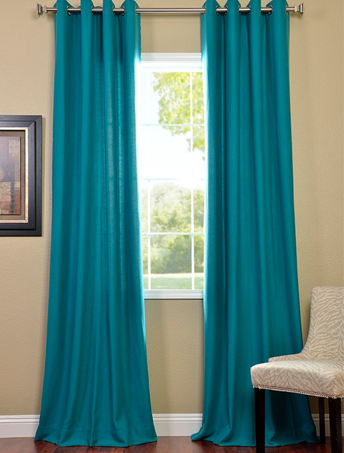 Turquoise curtains for living room ~ Decorate the house with - teal living room curtains