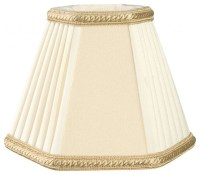 Decorative Trim Hexagon Empire Chandelier Lampshade