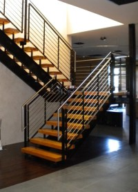 Stainless Steel Stair Railing - Staircase - phoenix - by ...