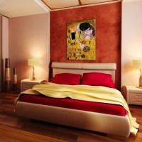 Oil Paintings for Bedrooms - Modern - Bedroom - wichita ...