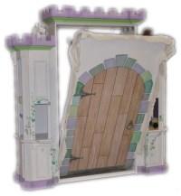 Custom Castle Murphy Bed - Traditional - Kids - houston ...