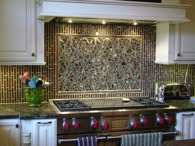mosaic ellipse kitchen backsplash coordinating field tiles modern mosaic tile backsplash kitchen ideas pictures home design ideas