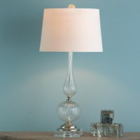 Sparkling Venetian Glass Table Lamp - Lamp Shades - by ...