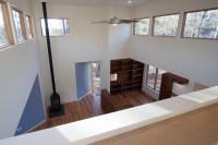 Loft overlooking Living Room modern-living-room