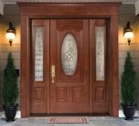 Single Fiberglass Door, with Doorlite & 2 Sidelites ...