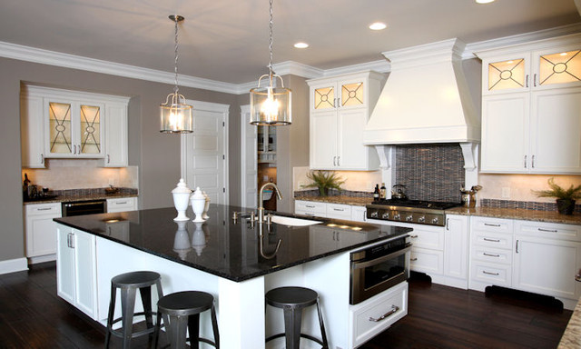 Gourmet kitchen contemporary kitchen other metro by instyle