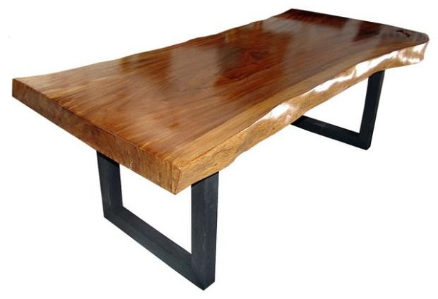 dining table wood slab