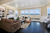 Oceanfront - Traditional - Living Room - orange county ...