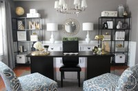 Turning a Dining Room into a Home Office - Traditional ...