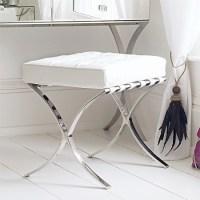 Sovana Dressing Table Stool - Contemporary - Vanity Stools ...