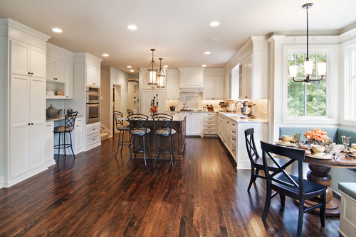 Beautiful Cabinetry Are These 10 Foot Ceilings