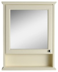 Savoy Old English White mirror cabinet - Traditional ...