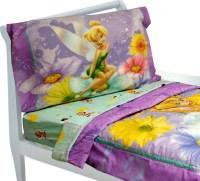 Tinkerbell Toddler Bedding Set 4pc Disney Fairy Flowers ...