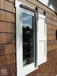 Sliding Window Shutter - Traditional - Exterior - other ...