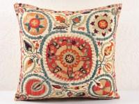 Suzani pillows, Decorative pillows, throw pillows - suzani
