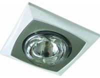 L2U-105 Single Heat Lamp - Contemporary - Bathroom ...