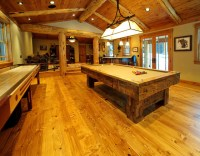 Old Growth White Pine Flooring - Living Room - other metro ...