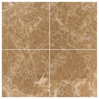 Light Emperador Marble 6x6 Polished Wall and Floor Tile ...