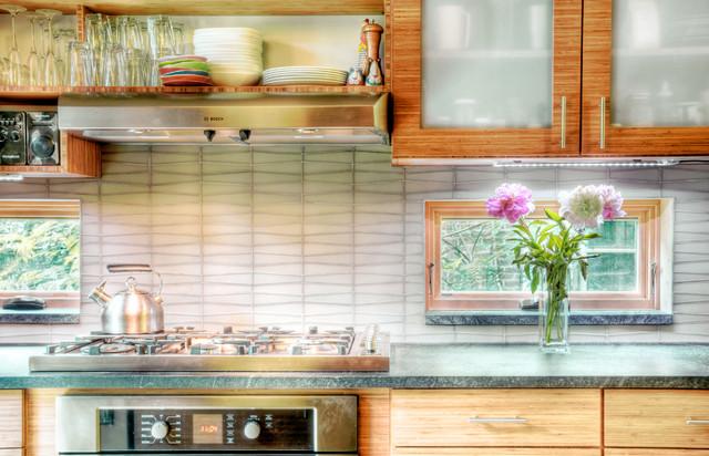 kitchen backsplash counter windows contemporary kitchen glass tile backsplash slightly glitzier alternative