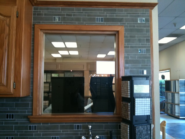 kitchen backsplash window glass tile backsplash slightly glitzier alternative