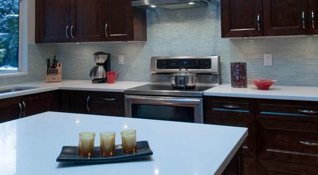 clear light blue glass kitchen backsplash modern kitchen light blue subway tile backsplash backsplash