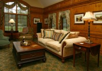 Old World Library - Traditional - Living Room - other ...