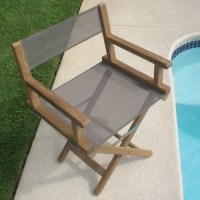 Royal Teak Folding Director Chair - Contemporary - Outdoor ...