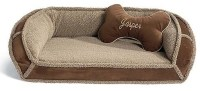 Sherpa Pet Bed with Free Bone Pillow - Frontgate Dog Bed ...