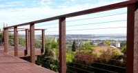 Balcony Cable Railing - Contemporary - Exterior - other ...