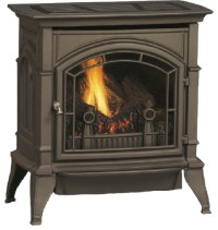 Majestic CSVF30SNVG CSVF Series Vent-Free Gas Stove ...