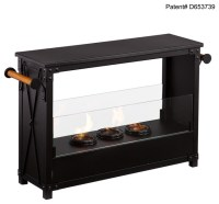 Lockport Portable Indoor/Outdoor Gel Fireplace