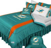 Top 28 - Miami Dolphins Comforter Set - miami dolphins nfl ...