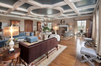 How do you create a coffered ceiling with a circle in the ...