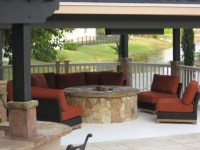 thoughts on fire pit under a covered patio ...