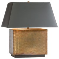 rectilinear metal lamp - Traditional - Lamp Shades - by ...