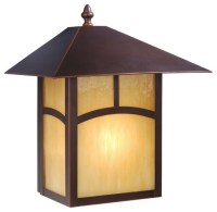 Mission Burnished Bronze Outdoor Wall Sconce - Craftsman ...