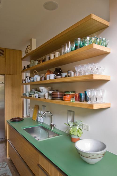 28+  Kitchen Cabinets Shelves Ideas  55 Open Kitchen Shelving - open kitchen shelving ideas