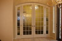 Interior Glass Door Project - Traditional - Home Office ...