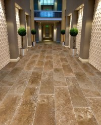 """Large format 12"""" x 26"""" Coco Travertine Tiles from Royal ..."""