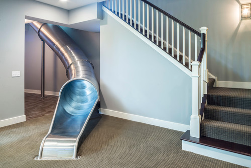 Feel Like A Kid Again With An Indoor Slide Abode