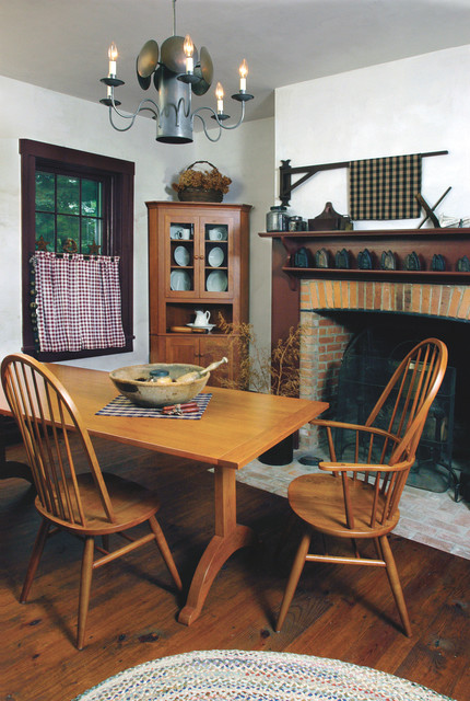 Wellborn Cabinets Shaker-style Cherry Dining Furniture - Farmhouse - Dining