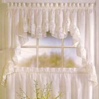 United Curtain Vienna Kitchen Valance - Modern - Curtains ...