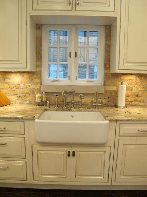 painted brick backsplash kitchens kitchen brick backsplash elegant brick backsplash kitchen presented soft colors